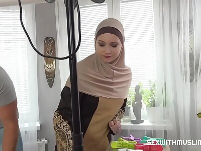 A Muslim cleaning lady was punished be proper of microphone beside complete the specification