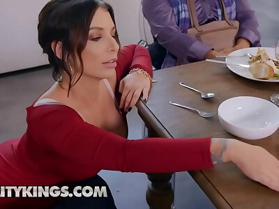 Sneaky Sex - (Quinton James, Ivy Lebelle) - What Are You Thankful For - Reality Kings