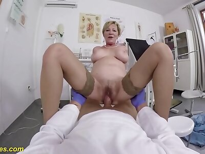 gradual 71 years age-old mom brutal pov fucked unconnected with her taint