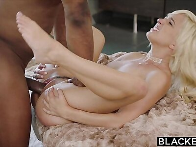 BLACKED First Interracial For Naughty Beauteous Eliza Jane